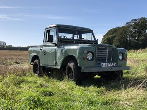 1983 Land Rover Series 3 Truck Cab. For Sale