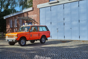 1979 Range Rover 2 Door Fire Engine only 26500km