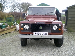 1983 Land Rover 110 V8 County Station Wagon  SOLD