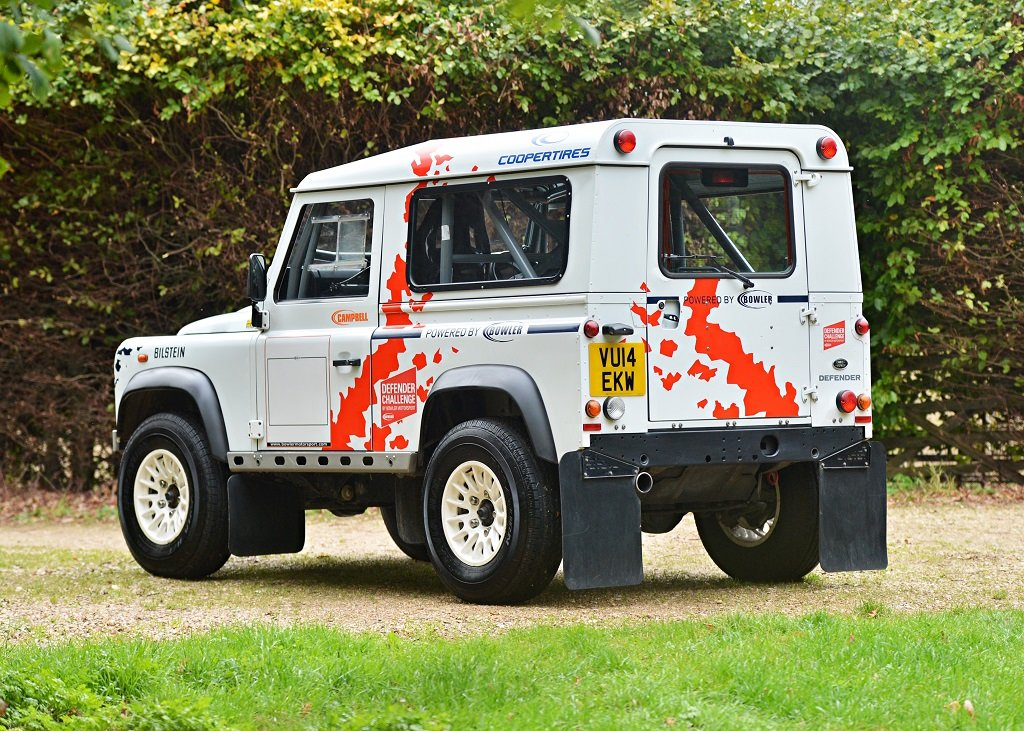 2014 Land Rover Defender Challenge by Bowler SOLD by Auction (picture 1 of 6)