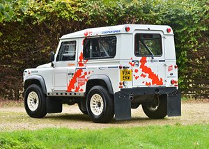 2014 Land Rover Defender Challenge by Bowler SOLD by Auction