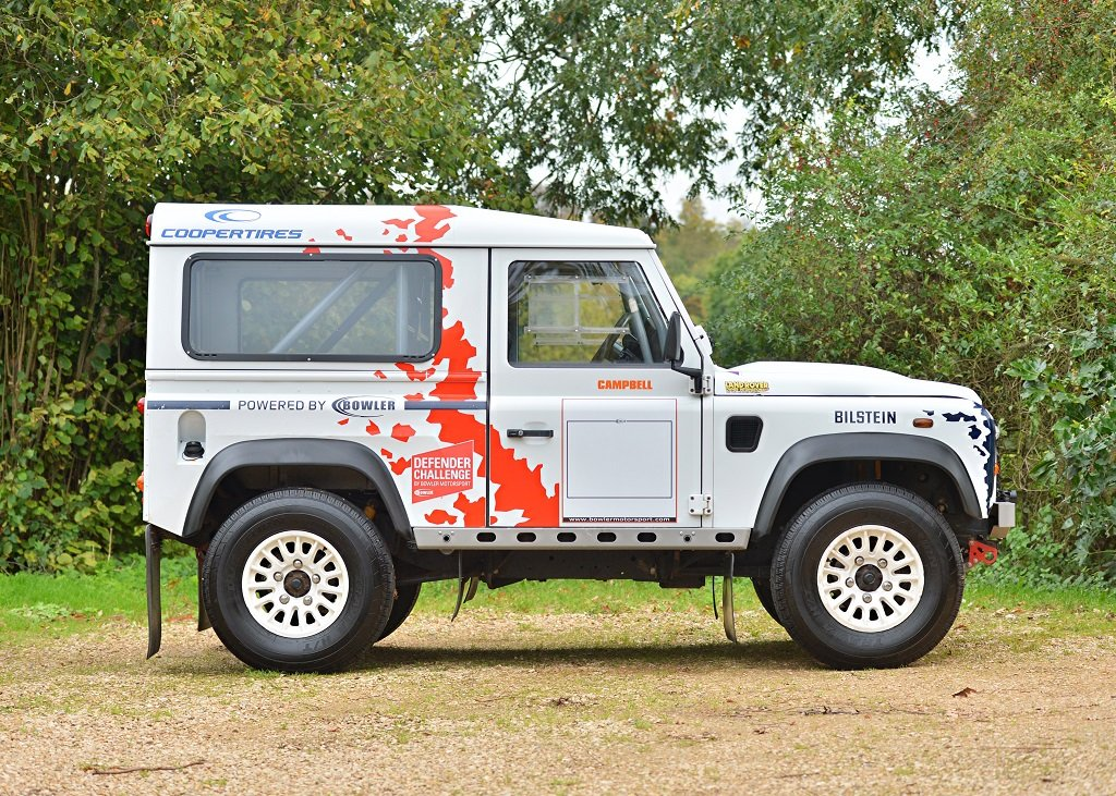 2014 Land Rover Defender Challenge by Bowler SOLD by Auction (picture 2 of 6)