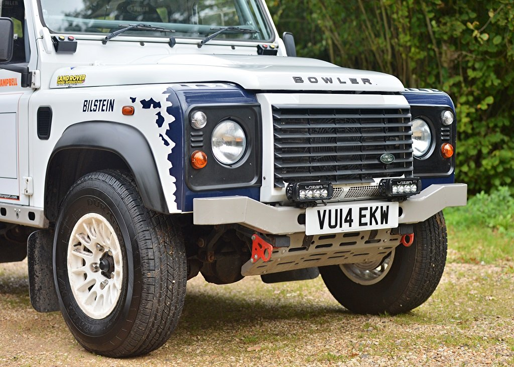 2014 Land Rover Defender Challenge by Bowler SOLD by Auction (picture 4 of 6)