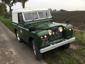 1969 Landrover Series 2a , 88 SWB Petrol  SOLD