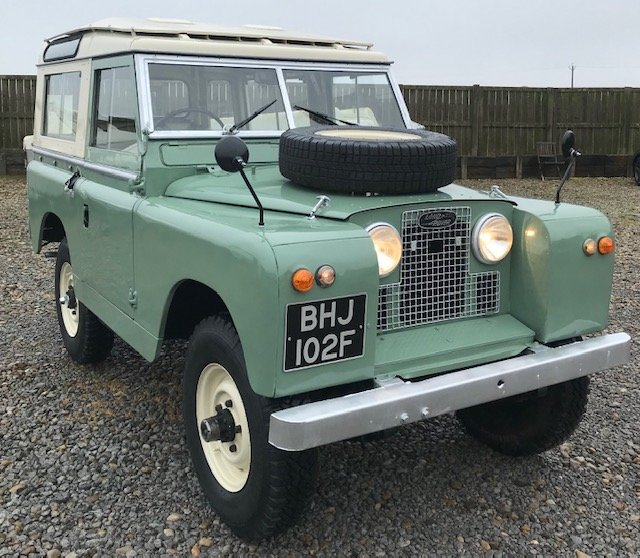 1967 Land Rover® Series 2a *Station Wagon* (BHJ) SOLD For Sale (picture 1 of 6)