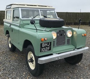 1967 Land Rover® Series 2a *Station Wagon* (BHJ) For Sale