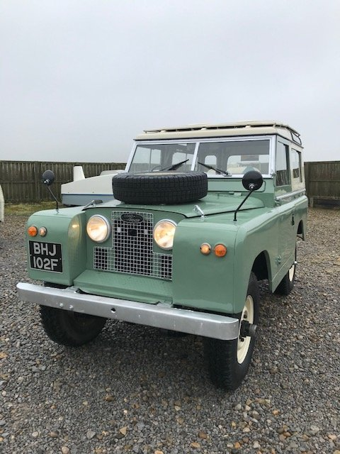 1967 Land Rover® Series 2a *Station Wagon* (BHJ) SOLD For Sale (picture 2 of 6)