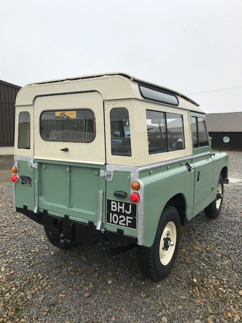 1967 Land Rover® Series 2a *Station Wagon* (BHJ) SOLD For Sale (picture 3 of 6)