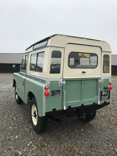 1967 Land Rover® Series 2a *Station Wagon* (BHJ) SOLD For Sale (picture 4 of 6)