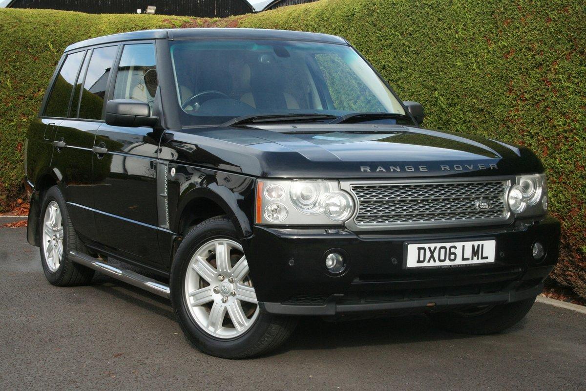 2006 Range Rover Vogue SE Auto For Sale (picture 1 of 6)
