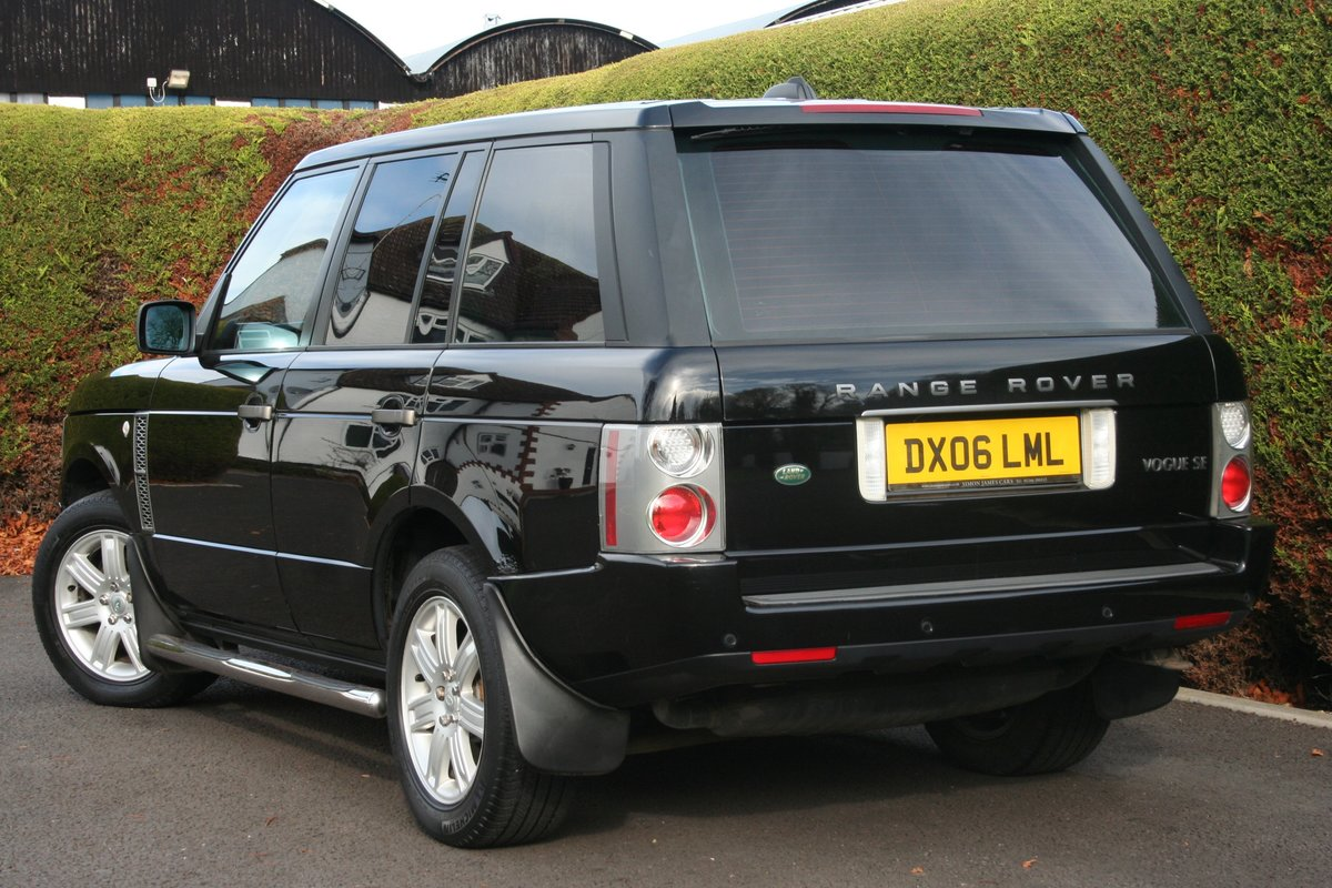 2006 Range Rover Vogue SE Auto For Sale (picture 6 of 6)