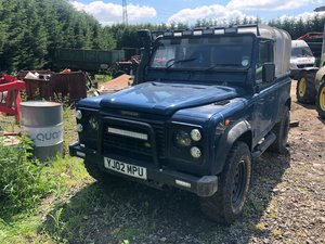 2002 Land Rover 90 td5 pick up