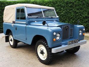 1969 LAND ROVER SERIES 2A 88 SOFT TOP FULLY RESTORED !!!! For Sale