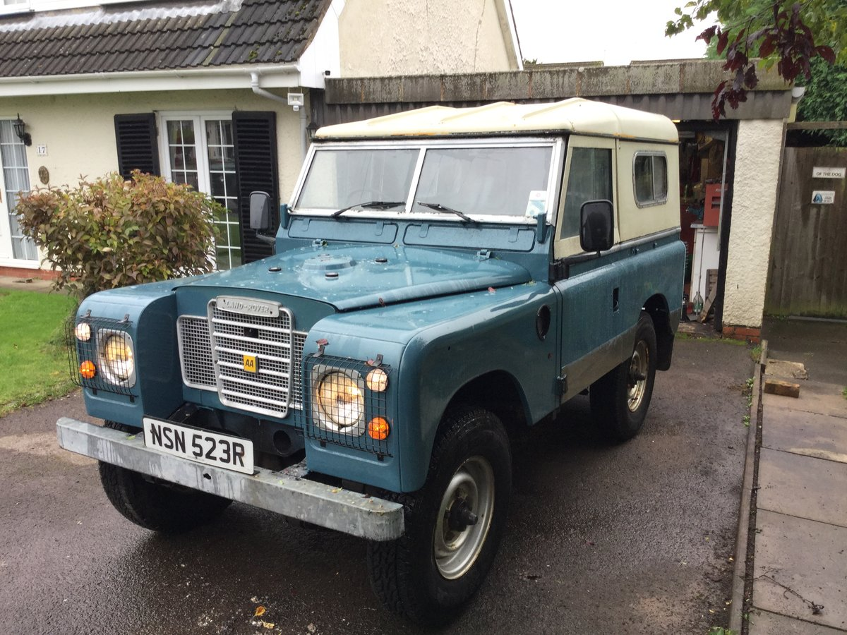 1976 Landrover Series 2.25 diesel SOLD (picture 1 of 6)