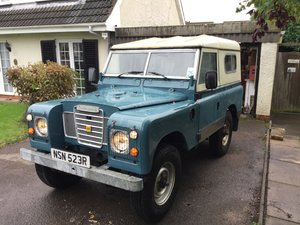 1976 Landrover Series 2.25 diesel For Sale