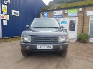 2003 LAND ROVER RANGE ROVER TD6 HSE VOGUE For Sale