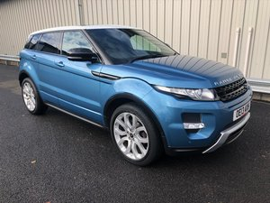 2013 LAND ROVER RANGE ROVER EVOQUE 2.2 SD4 DYNAMIC LUX 5D For Sale