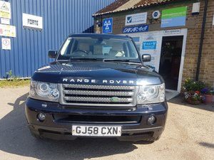 2008 Range rover sport 2.7 tdv6 hse For Sale