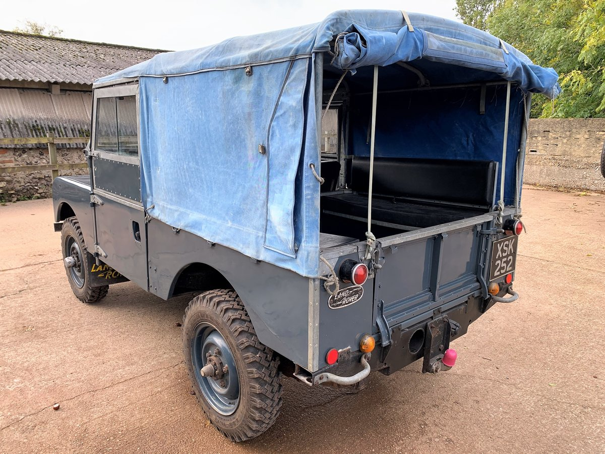 1954 land rover series one 86in softtop 2.25 petrol 7 seater For Sale (picture 4 of 6)