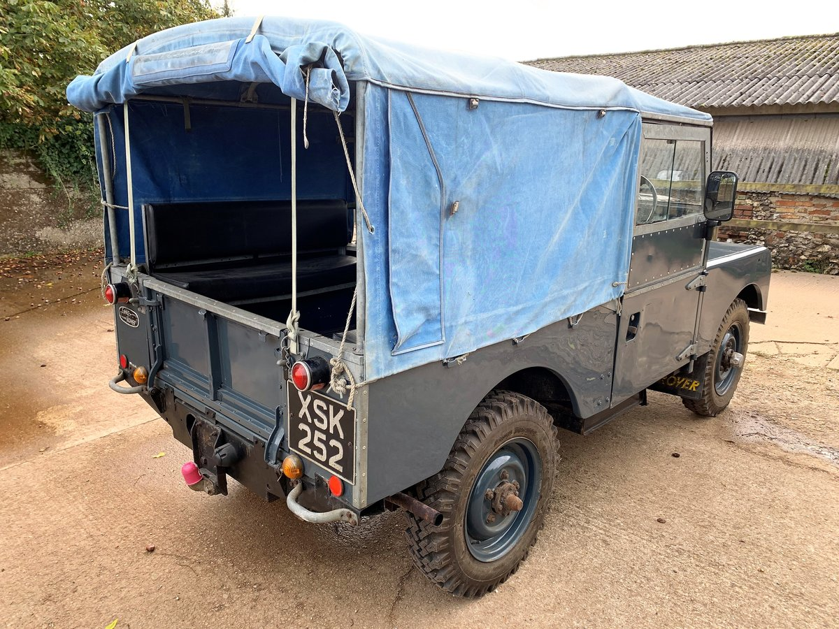 1954 land rover series one 86in softtop 2.25 petrol 7 seater For Sale (picture 5 of 6)