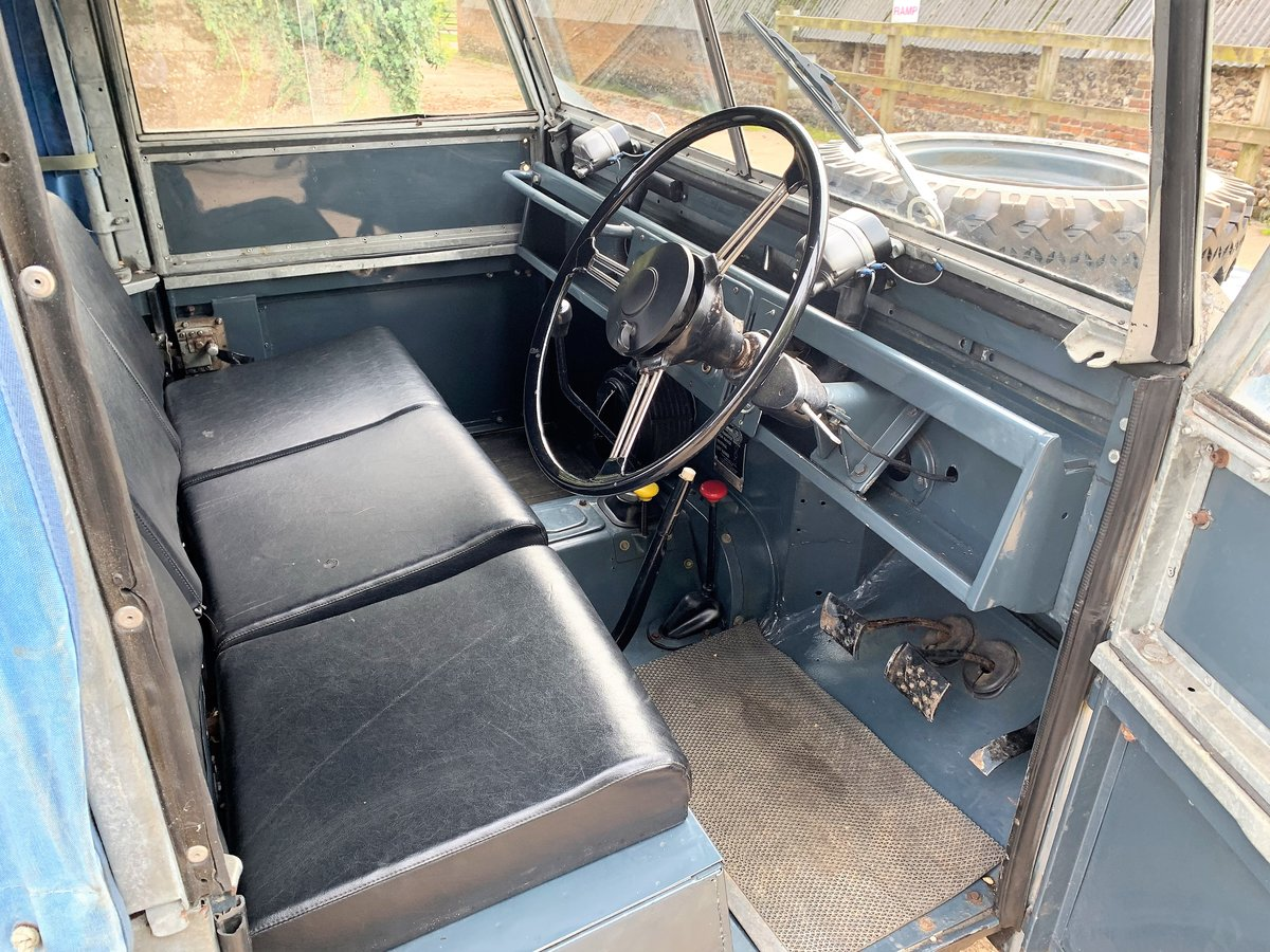 1954 land rover series one 86in softtop 2.25 petrol 7 seater For Sale (picture 6 of 6)