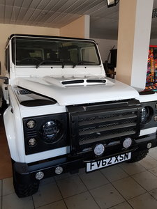 2012 Defender Ready for export to Japan..........