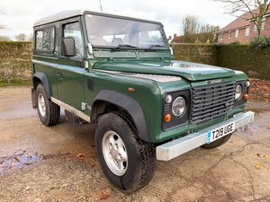 1999 99T Defender 90 TD5 6 seater+ new galv chassis! For Sale