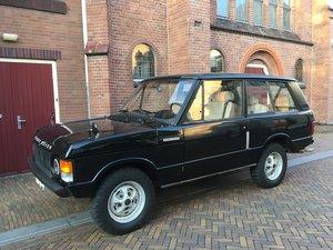 1972 suffix A Range Rover Classic