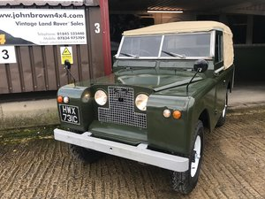 1965 Land Rover ® Series 2a *MOT and Tax Exempt Ragtop* (HWX) For Sale