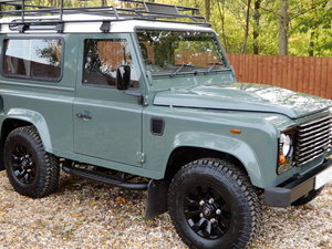2007 Land Rover Defender 90 Factory Station Wagon SOLD