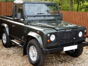 2005 Land Rover 90 County Truck Cab SOLD