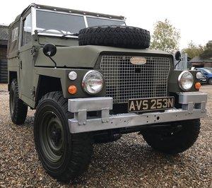 Lightweight Land Rover - 1974 ex-MOD SOLD