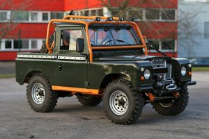 1976 Land Rover Series 3 88  Fully Rebuilt For Sale