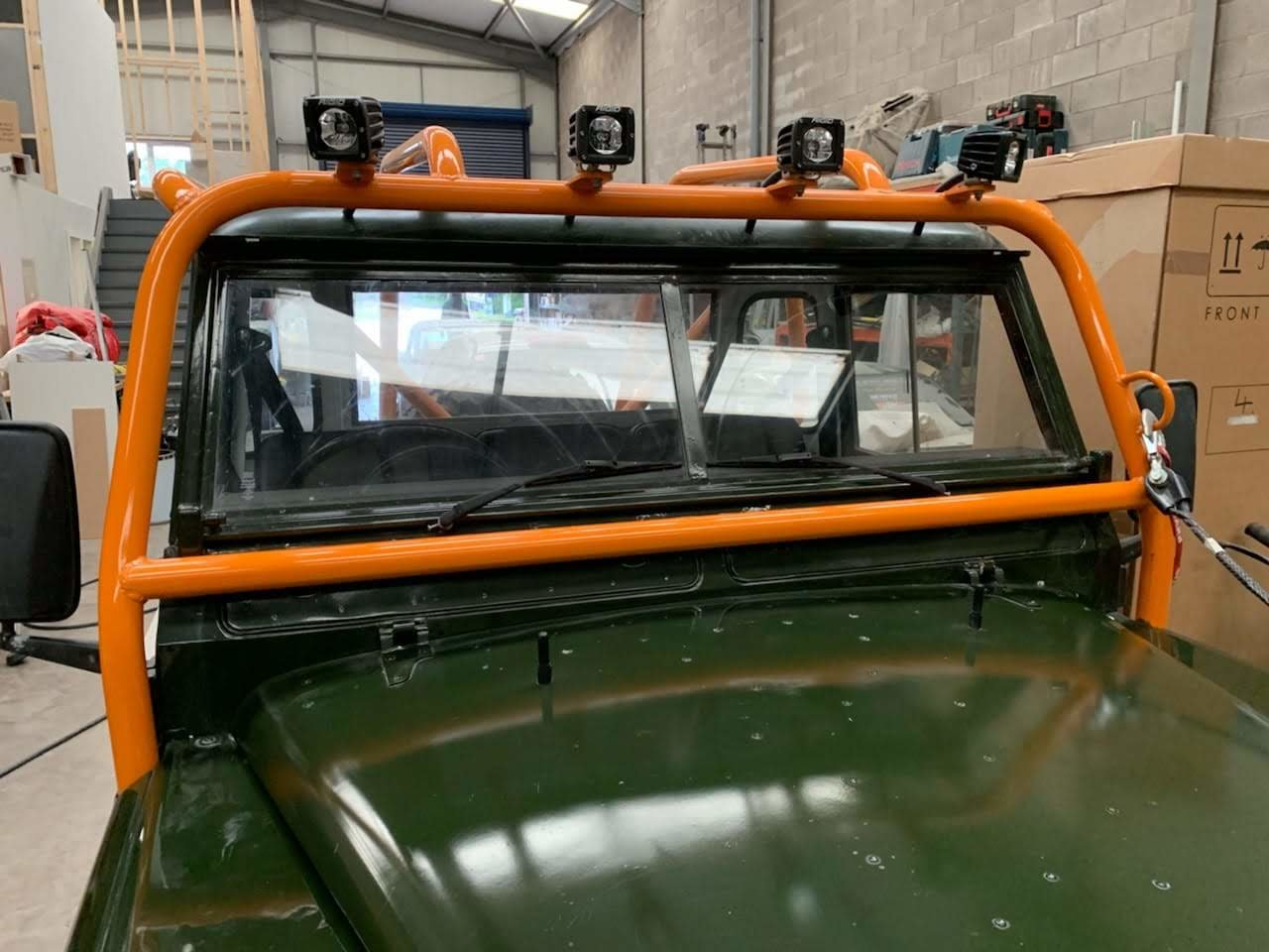 1976 Land Rover Series 3 88  Fully Rebuilt For Sale (picture 6 of 6)