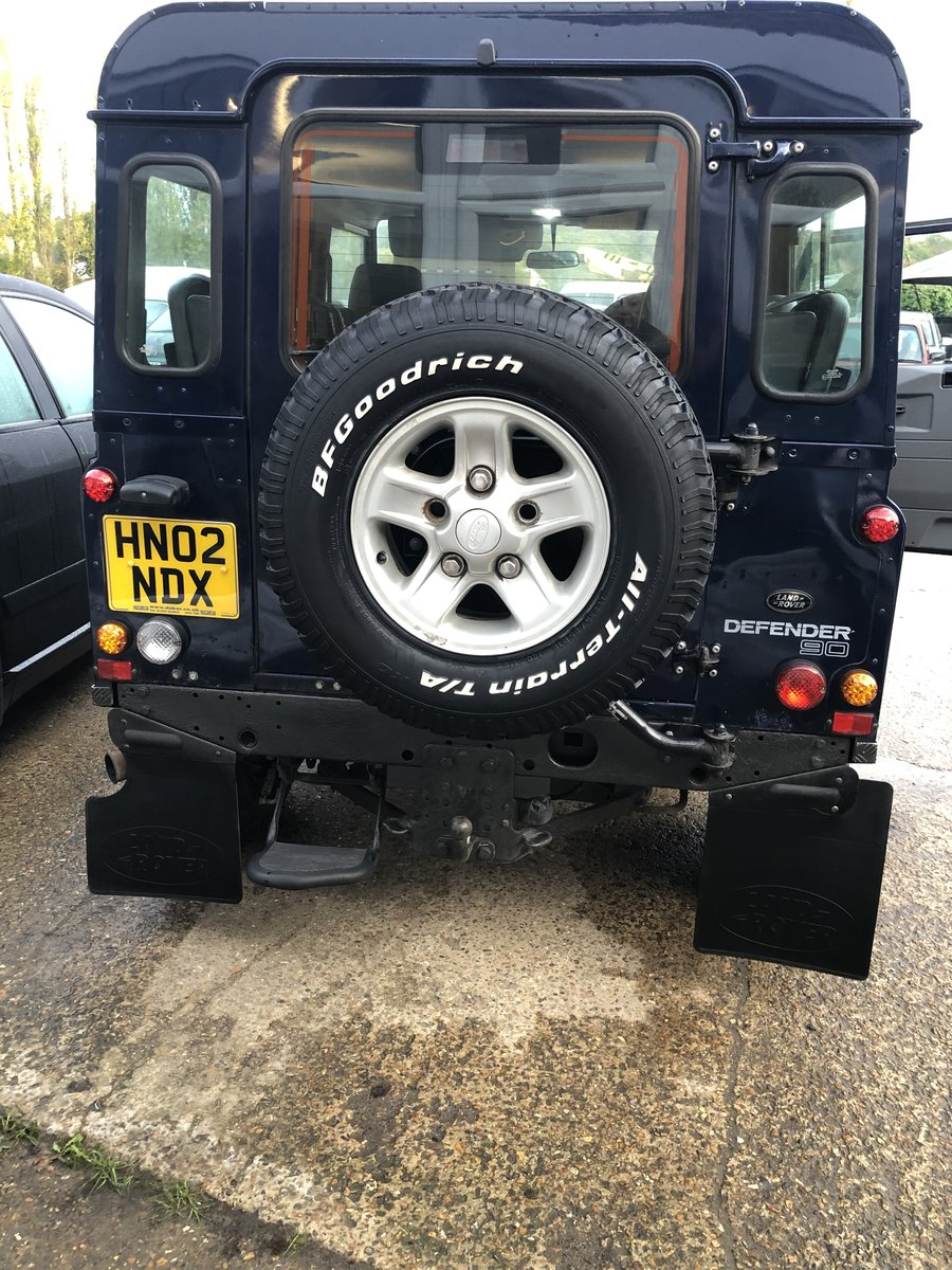 2002 Defender 90 county td5 For Sale (picture 2 of 6)