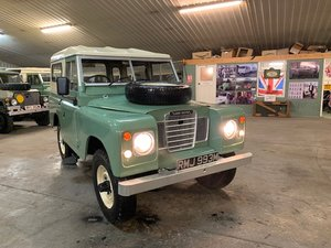 1973 Land Rover® Series 3 *Station Wagon Configuration* (RMJ) For Sale