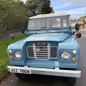 "1981 Land rover series 3 2.25 L  SWB / 88"" For Sale"