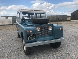 Picture of 1968 Land Rover ® Series 2a 109 Station Wagon (URC) RESERVED SOLD