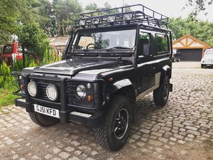 2001 Land Rover Defender Tomb Raider LE Td5 For Sale