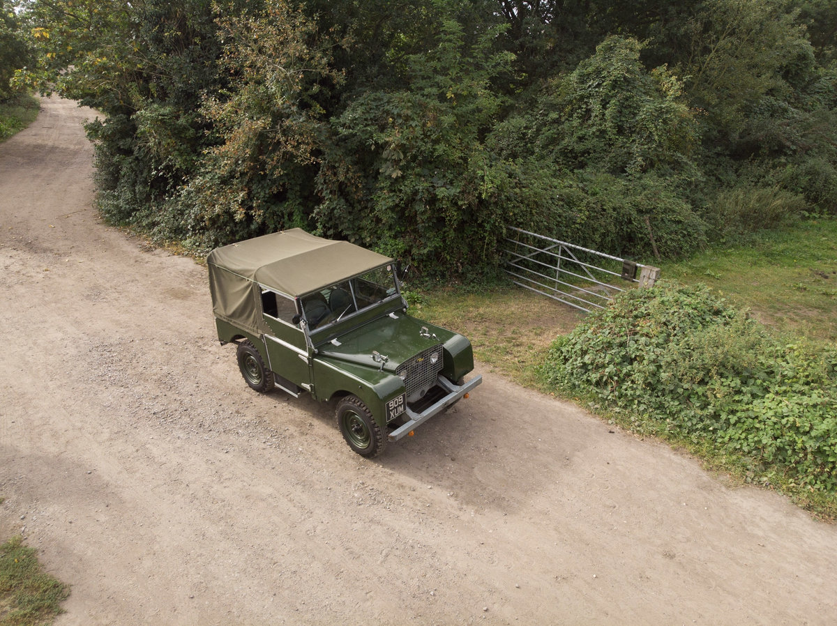 """1949 Series 1 Land Rover - """"The Mistress"""" For Sale (picture 1 of 6)"""