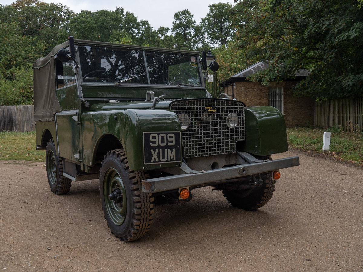 """1949 Series 1 Land Rover - """"The Mistress"""" For Sale (picture 2 of 6)"""