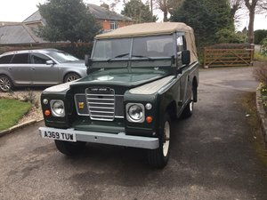 1984 Series 3 Land Rover with Galvanised Chassis For Sale