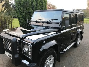 2009 Defender 110 xs station wagon tdi