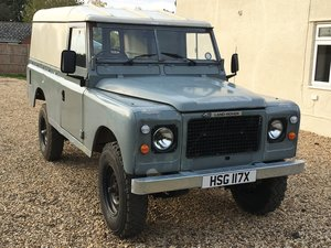 1981 Land Rover 109 Stage 1 V8