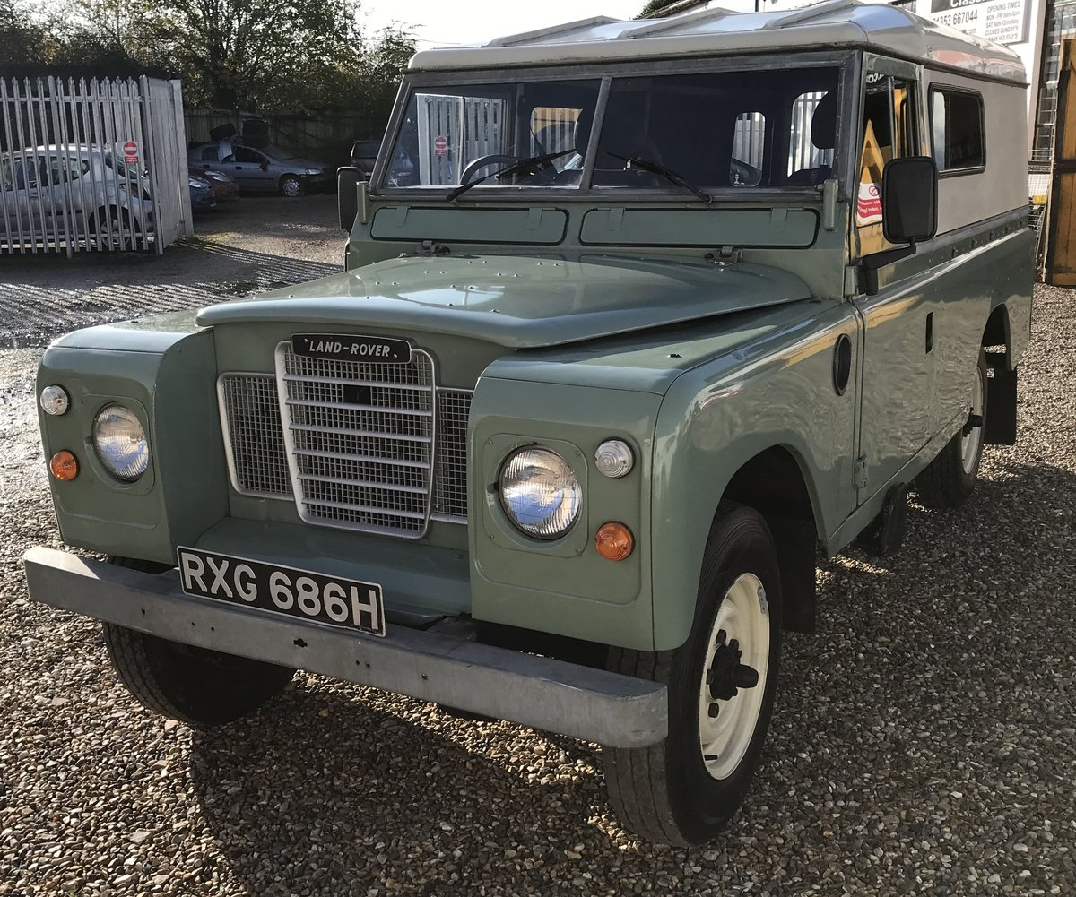 1970 Land Rover Series 2a LWB SOLD