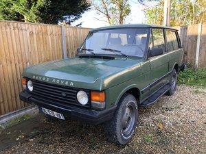 1989 Range Rover Classic 2 Door  For Sale
