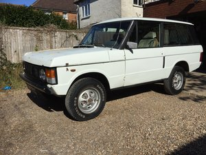 1978 Range Rover Classic Suffix Rolling Shell For Sale