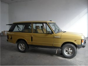 1978 Range Rover Classic 3 Doors 3.5 V8 For Sale