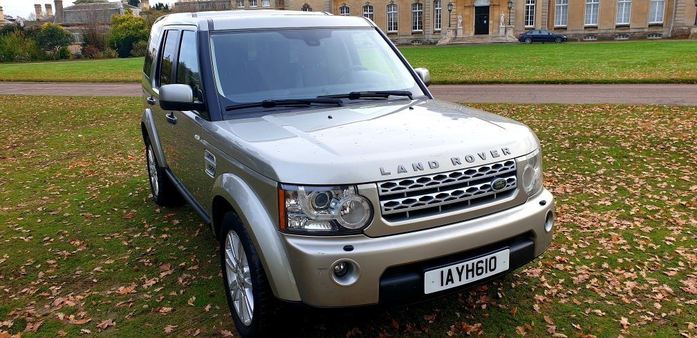 2012 LHD LAND ROVER DISCOVERY 4, 3.0 SDV6 SE,LEFT HAND DRIVE For Sale (picture 2 of 6)