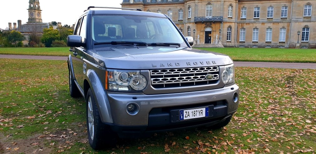 2010 LHD LAND ROVER DISCOVERY 4,3.0 SDV6 SE, LEFT HAND DRIVE For Sale (picture 2 of 6)